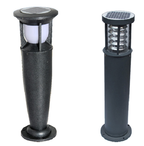IP65 rate 2V steel Solar lawn Lamp outdoor led garden lights for garden yard