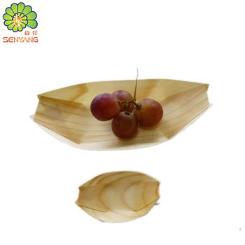 Restaurante Equipamentos De Embalagem Barco De Madeira Para Sushi ... 999765863e34d