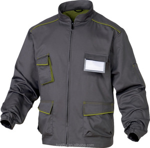 Custom Work Jacket Professional Mens Engineering Uniform Workwear