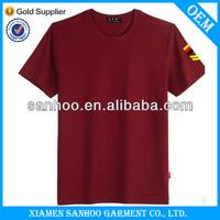 Wholesale New Bulk 100% Cotton Short Sleeve Tshirt For School Uniform