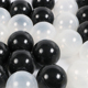 China manufacturer wholesale LDPE black plastic ball pit balls with good price