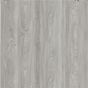 Wood Grain Waterproof Fireproof Spc Vinyl PVC Floor with Click Lock