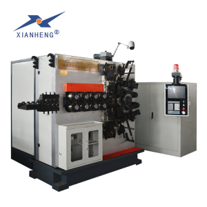 large compression spring making machine used in heavy machinery equipment