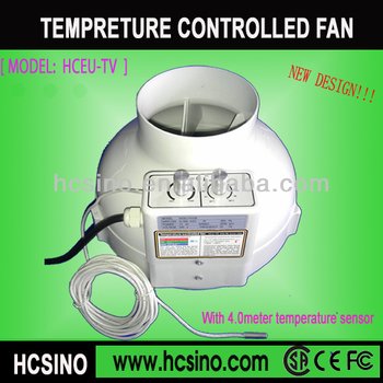 With Temperature controlle hydroponics grow tent inline faninline duct fan  sc 1 st  Alibaba & With Temperature Controlle Hydroponics Grow Tent Inline FanInline ...