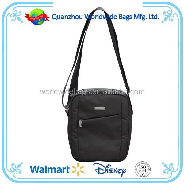 Elegant mini shoulder bag in microfibre fabric easy for shopping
