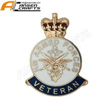 HM Armed Forces Veteran Hard Enamel Badge 2019 UK อังกฤษ POPPY RAF NAVY Mini ขนาด