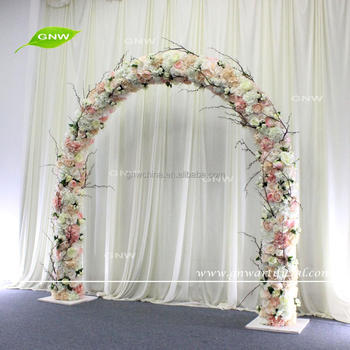 Gnw flwa1707013 artificial flower wedding arch event decoration gnw flwa1707013 artificial flower wedding arch event decoration floral entrance junglespirit Gallery
