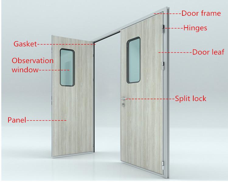 2018 Professional Hermetic Swing Door For Clean Room,Double Door ...