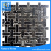 new design nero marquina china stone wall art decoration