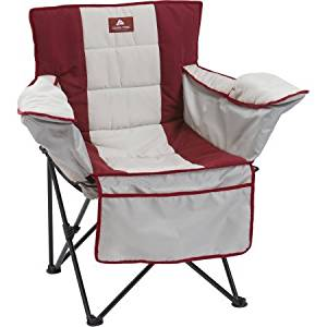 Ozark Trail Cozy Quad Slip Cover, Insulated Seat and Back Rest, Quick and Easy Setup, Durable and Comfortable Chair Cover- Comes with Carry Bag for Easy Transport and Storage (Chair not included)
