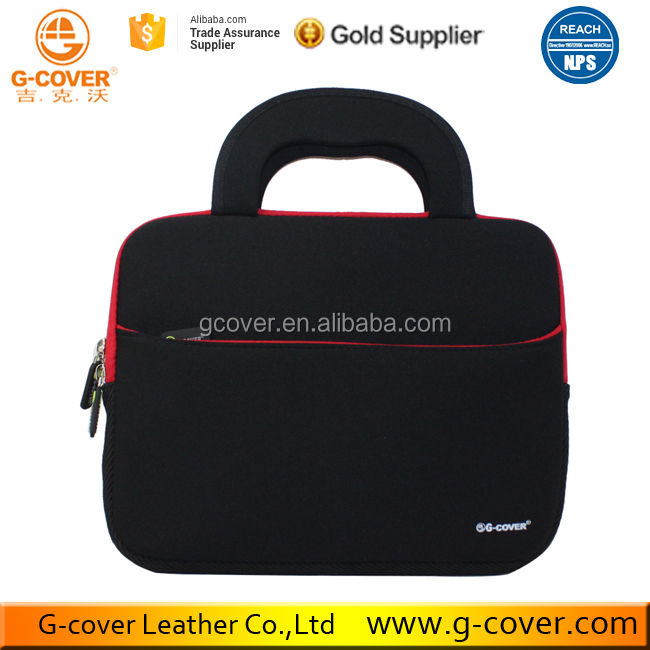Stock Promotion Waterproof Neoprene Laptop Carrying Case Bag for macbook laptop