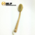 wooden body brush Back Brush Long Handled Curved Wooden Bath Shower Brush
