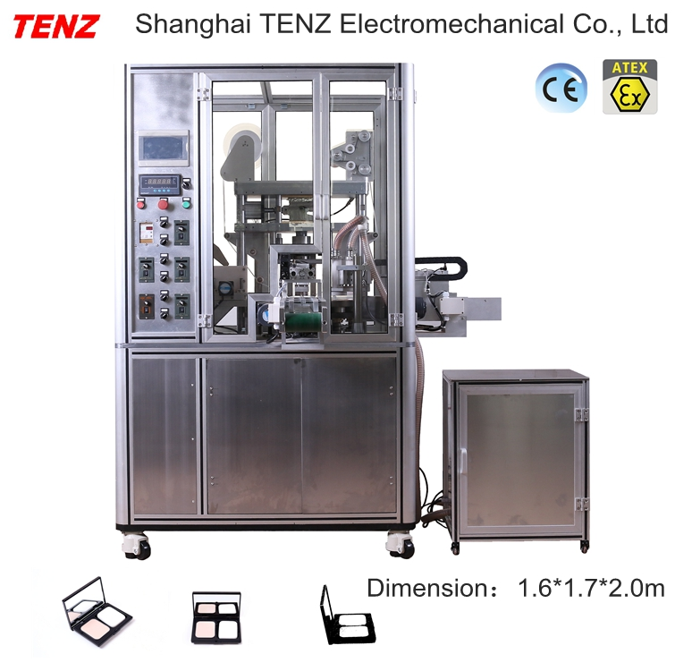 Tenz Automatic Cosmetic Compact Powder Pressing/making Machine - Buy  Compact Powder Machine Product on Alibaba com