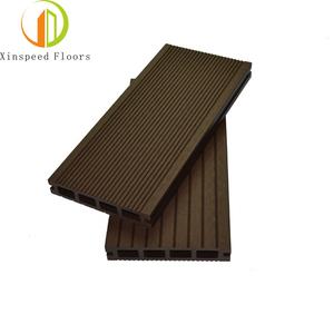 Water Resistance Environmental PE China Anti- slip wpc wood composite deck outdoor flooring