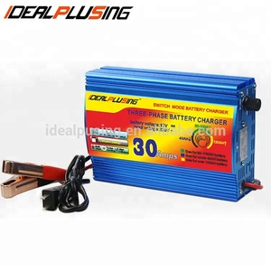 Factory direct portable 30a 12 Volt Car Battery Charger