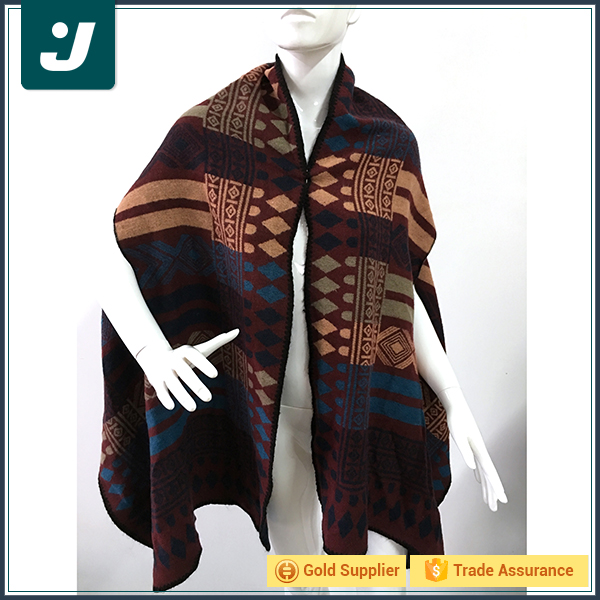 Wholesale new style winter knitting pashmina scarf manufacturer