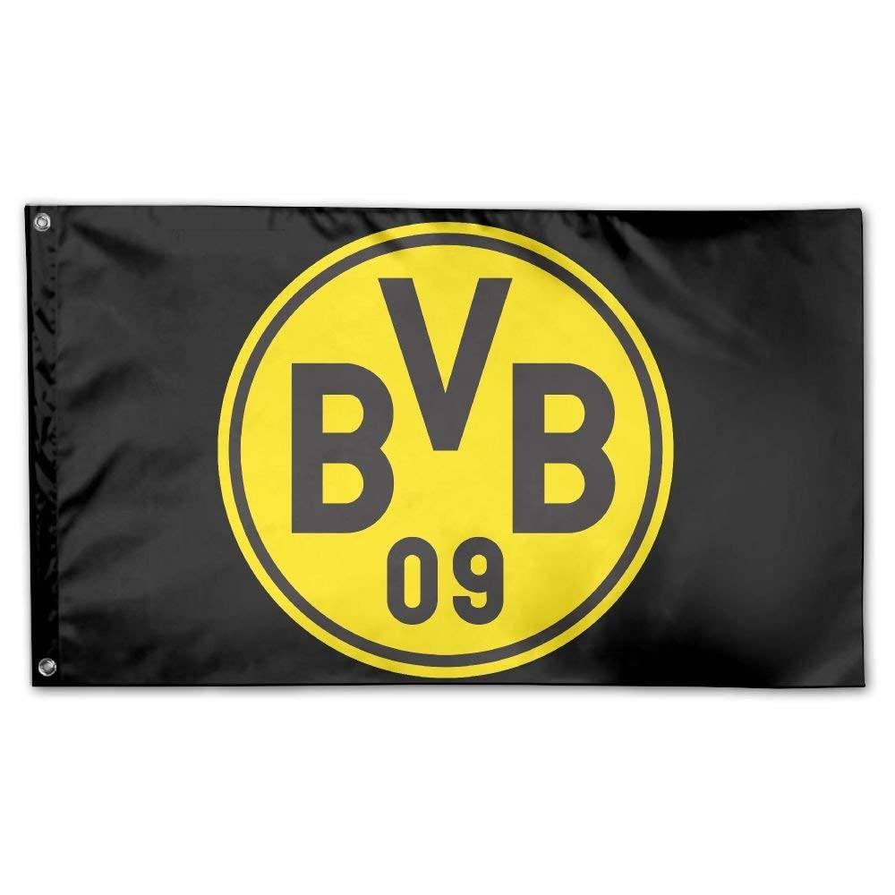 1ec70d6e6348 Get Quotations · VCU Borussia Dortmund House Flag Garden Flag Yard Banner  Garden Flag 3  ...