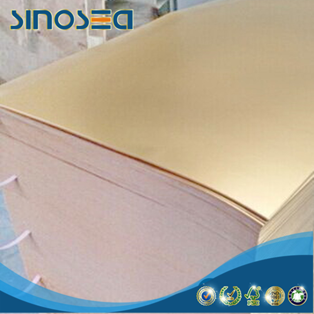 alibaba china supplier laminated gold foil cake card paper board