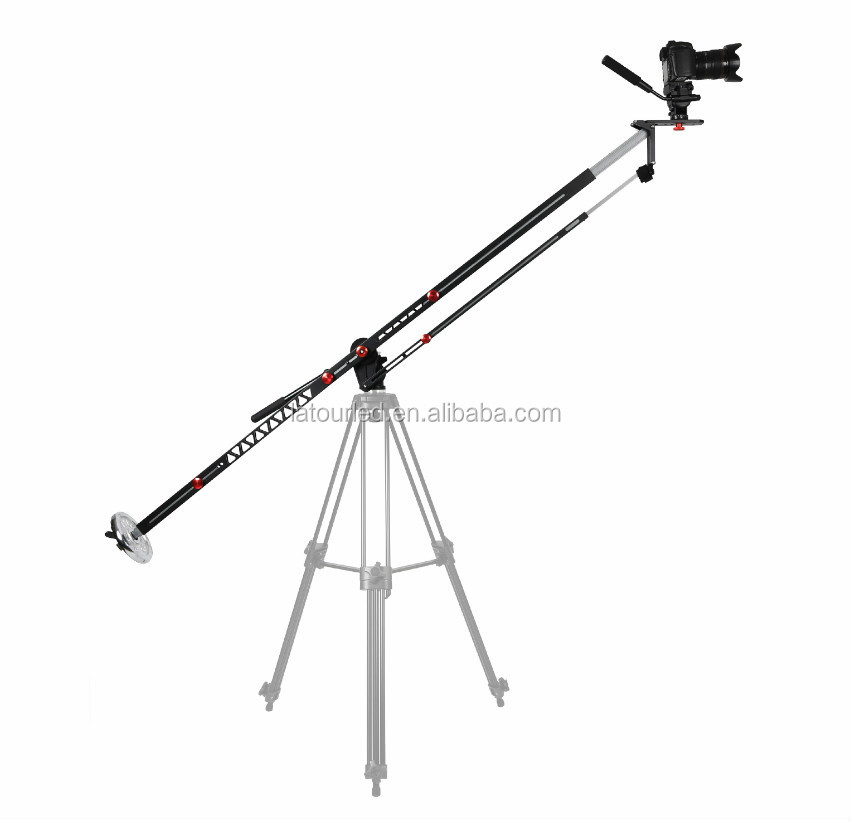 Foldable aluminum alloy 3m camera crane jib for dslr YB-K275