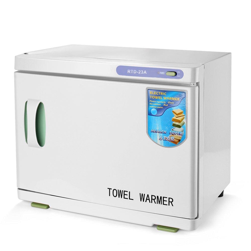 Get Quotations Flexzion Hot Towel Warmer Cabinet Rack Electric Heater Heated Rail Storage Basket Shelf