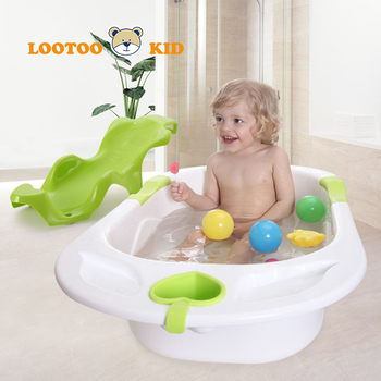 Good material alibaba trade assurance china factory durable plastic baby folding bathtub