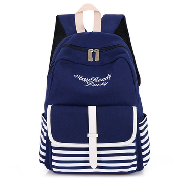 2018 New Fashion Canvas Stylish College Bags Girls Book Bag Buy