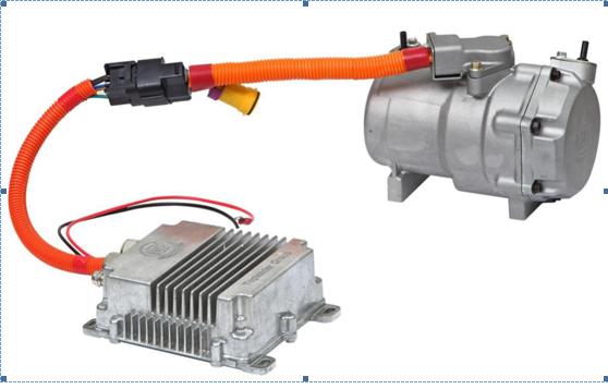 Mini Air Conditioner Compressor For Car With R134a Refrigerant ...