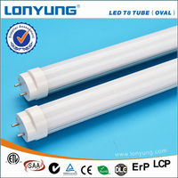 2016 competitive price T8 tube 2.4M 36W livarno lux led