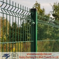 China Steel welded wire mesh fencing with plastic or steel clip(good quality and perfect price ISO9001) Zhenhong
