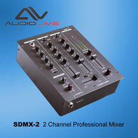 SDMX-2 China Manufacturer supply Professional 2 Channel DJ USB Mixer