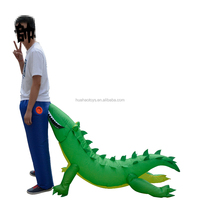 Funny Inflatable Alligator Costumes Inflatable Dinosaur Costume Mascot Halloween Costume