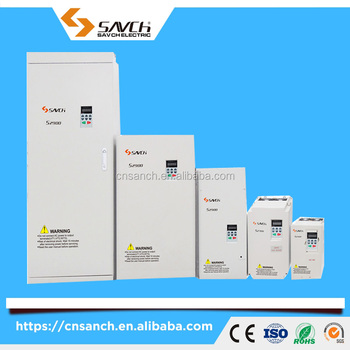 Sanch S2800 110kw sensorless vector control 3 phase 380v ac variable frequency drive for ac motor