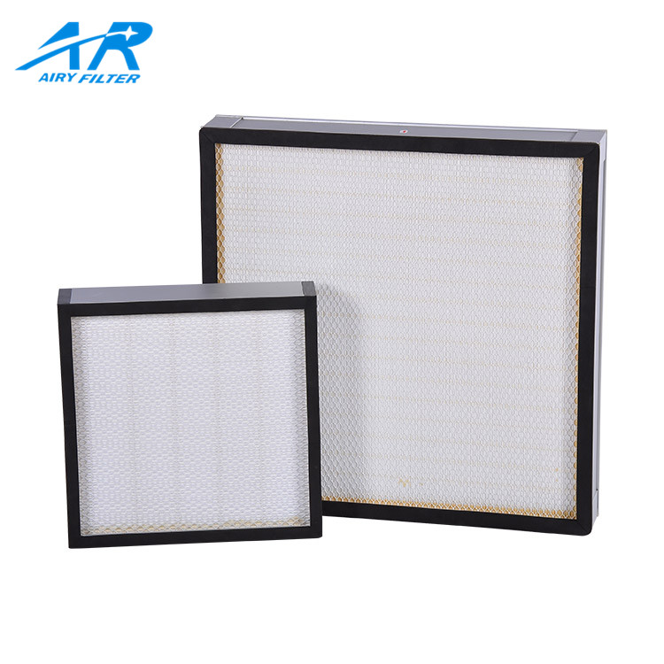 Low Initial Resistance Hepa Filter For Home Furnace, Hepa Filter For Operating Room, Hepa Filter Heater