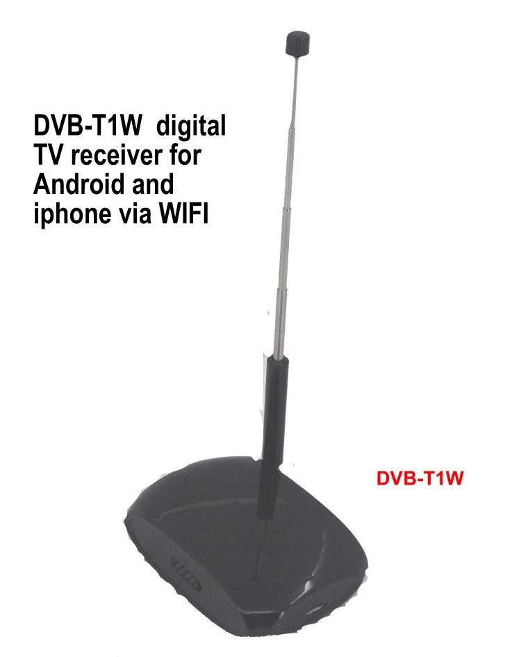 DVB-T1W wifi receiver DVB-T Digital TV for android and Iphone Ios