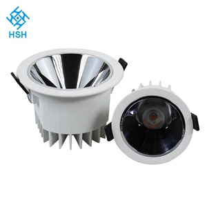 Home Decoration30W 35w Led Commercial Black Round Hotel 60 degree led downlight spots 22.5w