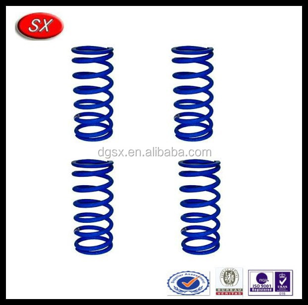 High quality customized suspension spring for automotive car coil over spring for circle track race cars Dongguan spiral spring
