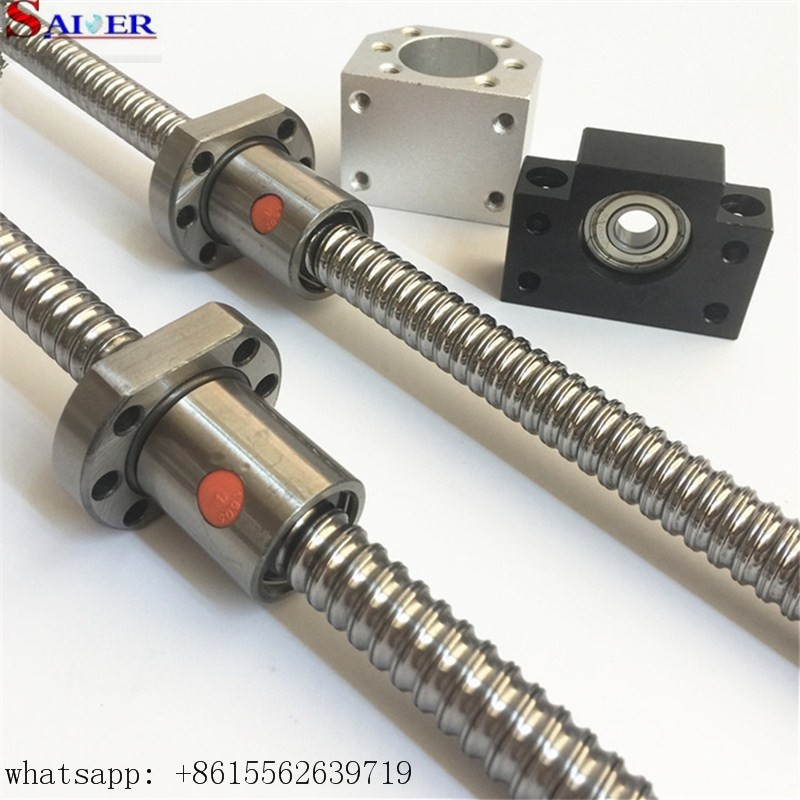 cnc machinery 5mm lead SFU2005 ball screw ,factory wholesale