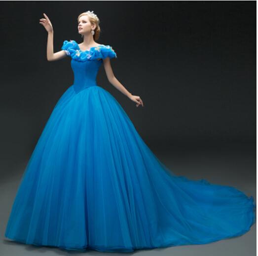 blau cinderella kleid kaufen billigblau cinderella kleid partien aus china blau cinderella kleid. Black Bedroom Furniture Sets. Home Design Ideas