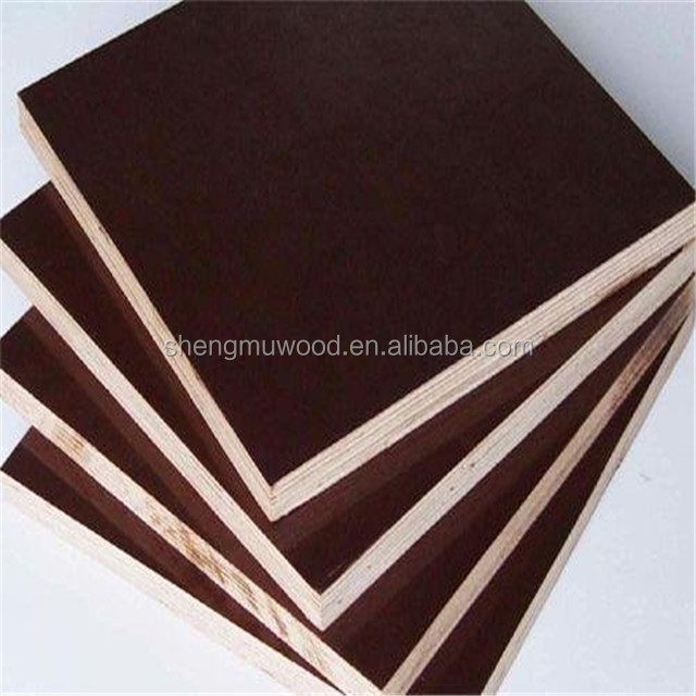 11 ply 18mm laminated marine plywood/timber for concrete formwork