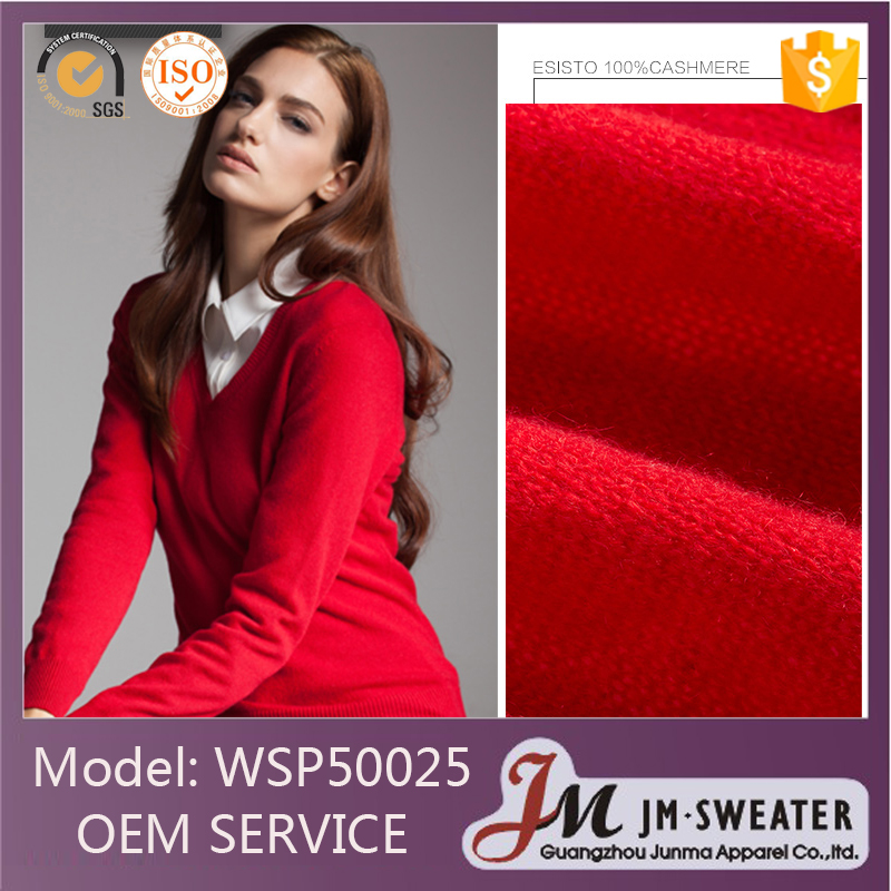 High Quality Cheap Price Red Women Cashmere Sweater India - Buy ...