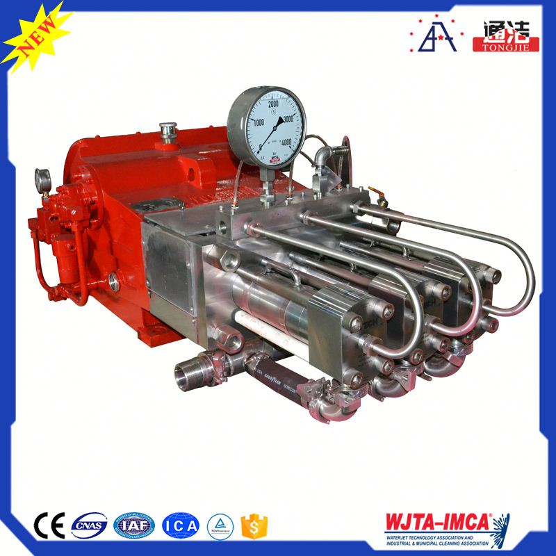 New Type TONGJIE Industrial Cleaning Equipment High Pressure Hydraulic Oil Pump