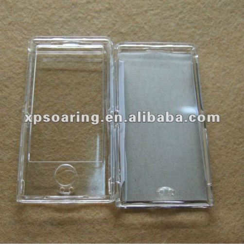 crystal hard case front and back cover for ipod nano 7