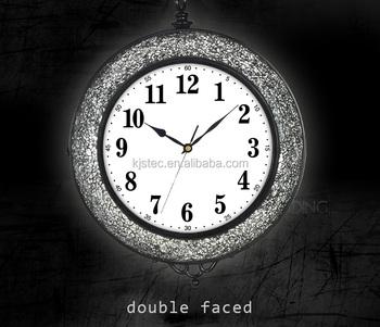 24 Inch Diameter Multiple Time Zones Antique Clock Wallpaper Wall Clock