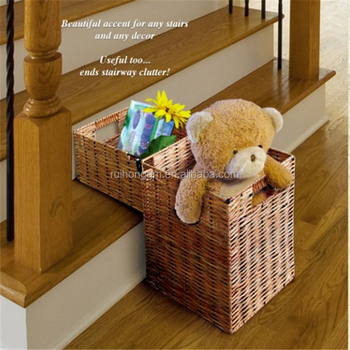 High Quality Decorative Wicker Storage Stair Step Basket   Buy Step  Basket,Storage Basket,Stair Basket Product On Alibaba.com