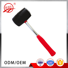 Good quality in stock RSD61012 rubber fiber handle rubber sledge hammer made in China