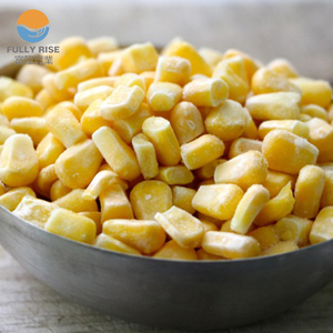 Frozen IQF whole kernel sweet corn Garde A quality