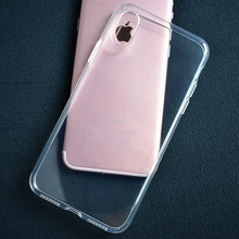 For iphone 8 8 Plus for iphone X 7 7plus 6 6S Transparent Phone Case Ultra thin Phone Cases Transparent TPU Phone Case