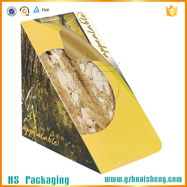 Sell like hot cakes of recyclable sandwich food packaging box