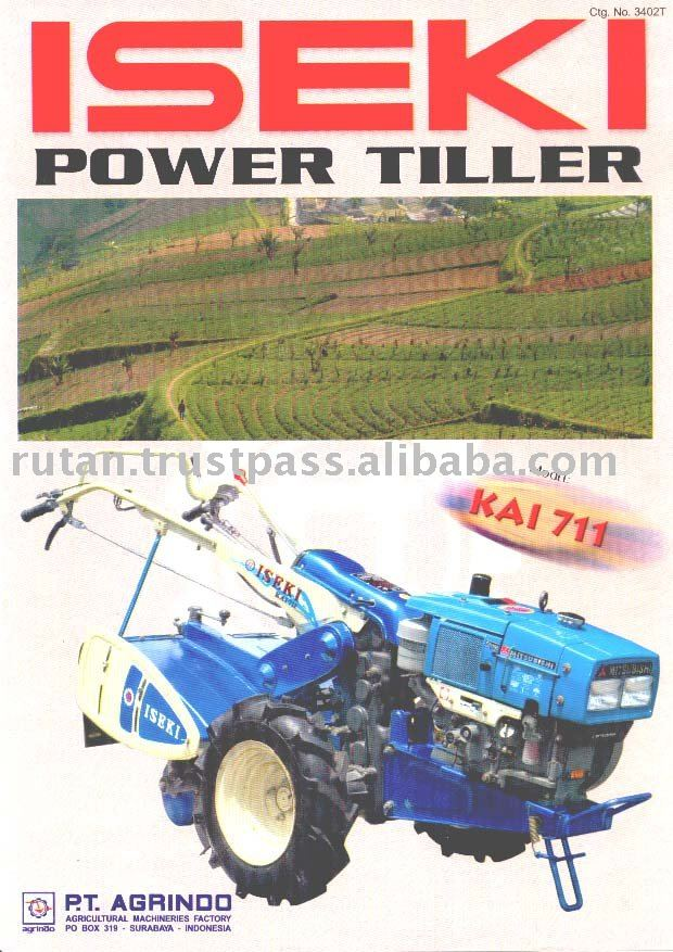 Iseki-agrindo Power Tiller Model Kai-711