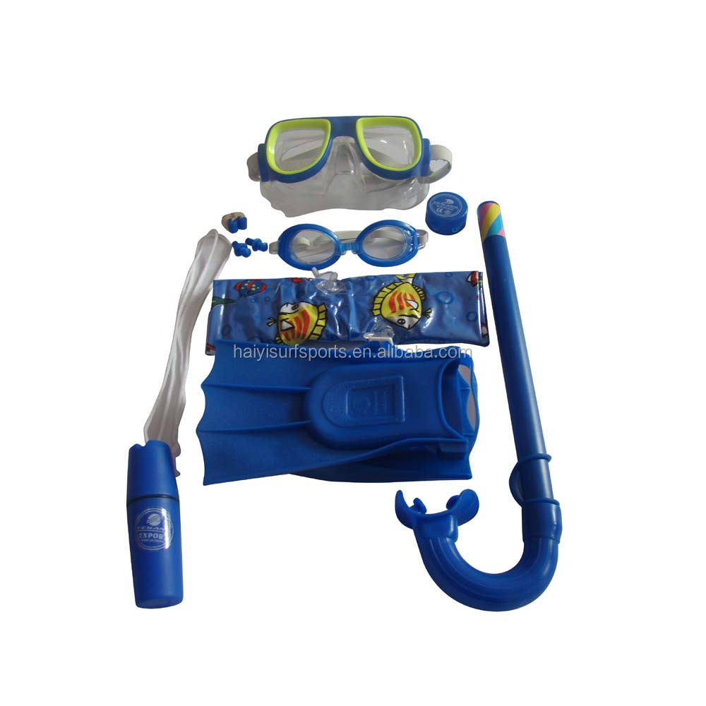 Junior sets diving mask and snorkel durable and soft snorkeling equipment for hot sale
